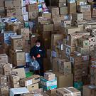 Склад гуманитарной помощи