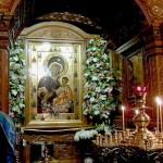 Наши молебны в Иверской часовне
