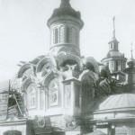 Казанский собор на Красной площади во время реставрации. Фот. 1920-х гг.