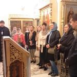 В подклете Казанского храма