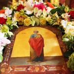 Освящение Елисеевского предела