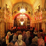 Вечернее богослужение Престольного праздника