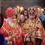 Утреннее богослужение Престольного праздника