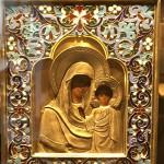Богоматерь Казанская, принадлежавшая святой Великой княжне Татьяне Николаевне