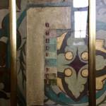 Контрольный участок послойного раскрытия живописи