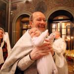 Крещение младенца Михаила