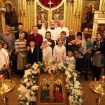 Крещение малышки Екатерины