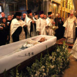 В нашем храме состоялось отпевание Николая Петровича Караченцова