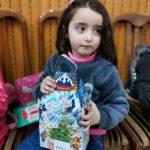 Наши подарки сирийским детям