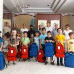 Ученики приходской школы в сирийском городе Забадани получили наши подарки